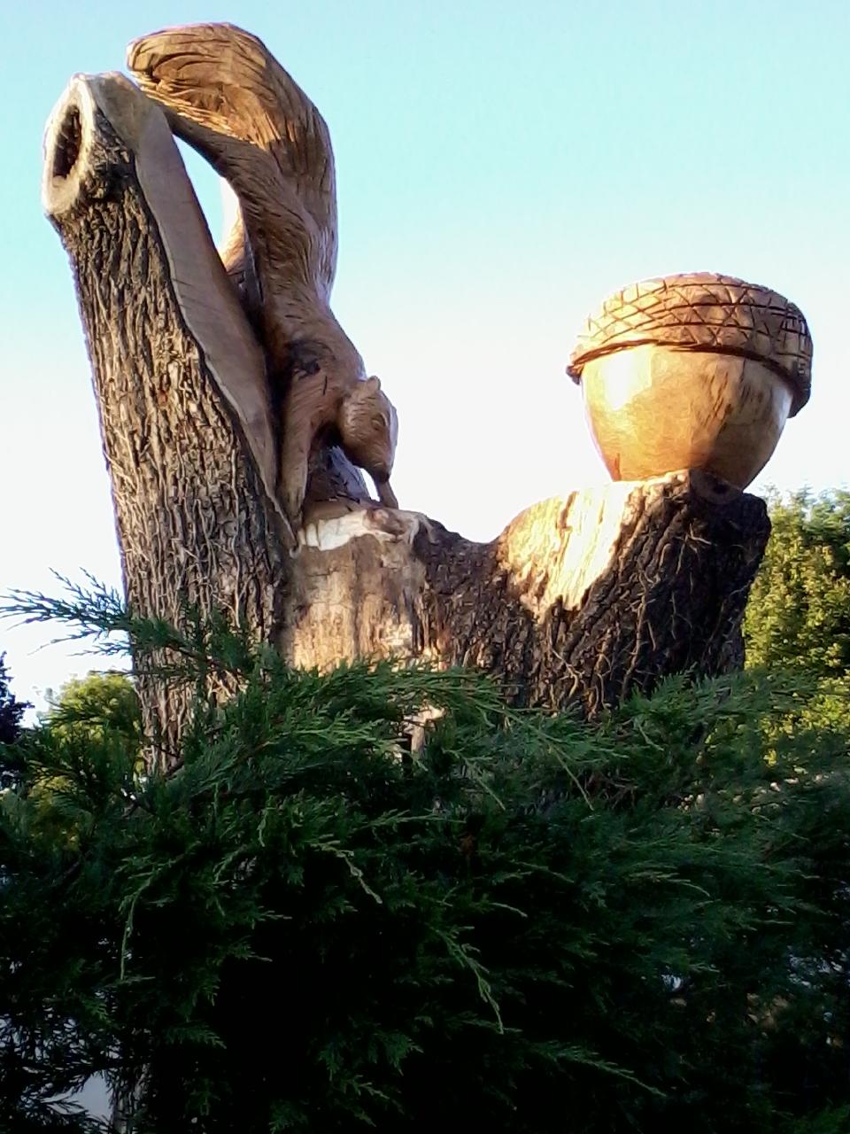 Tree Carving Bruks Tree Surgery