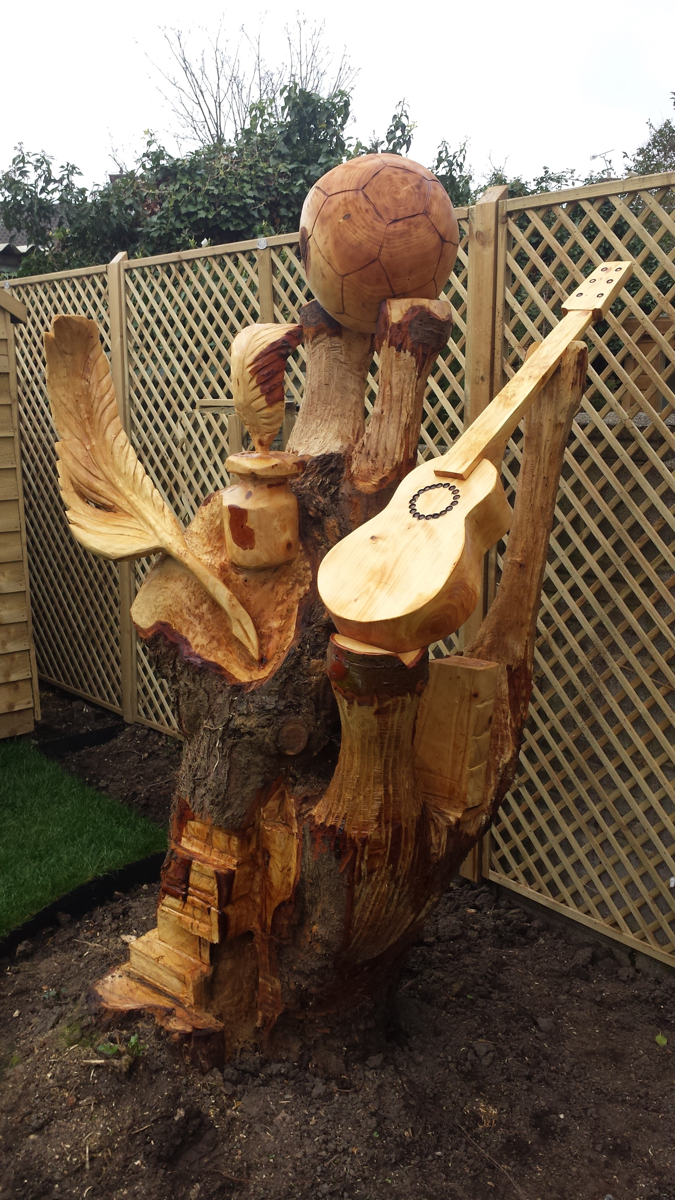 Gallery carvings chainsaw carving sculpture